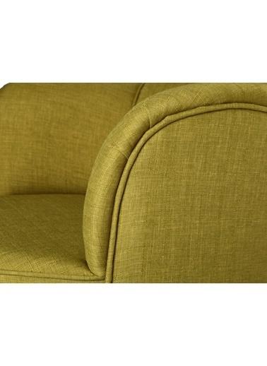 Ze10 Design Victoria Tekli Koltuk Fıstık Yeşili Yeşil